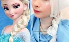 Ellend  Muzakky, Si Hijaber Disney