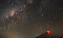 Gunung Sinabung Erupsi 3 Kali Hanya dalam Beberapa Jam