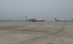Dua Pesawat Water Bombing Rusia Tiba di Palembang