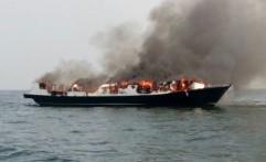 Kapal Penumpang ke Pulau Tidung Terbakar, Satu Orang Tewas